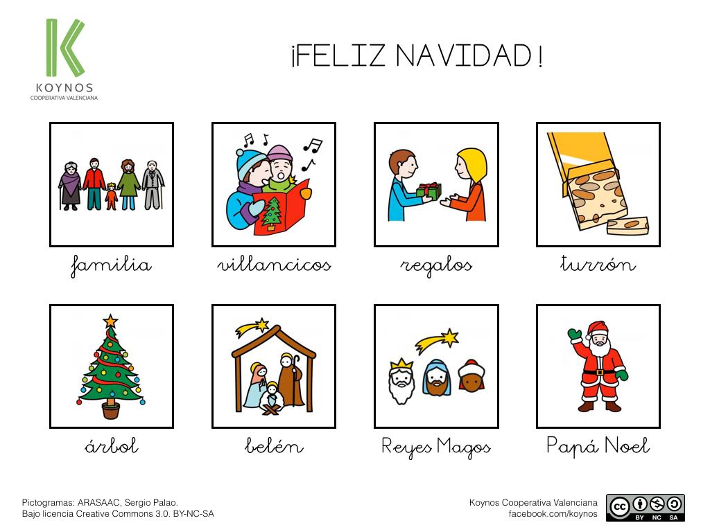 Tablero De Comunicación: Navidad