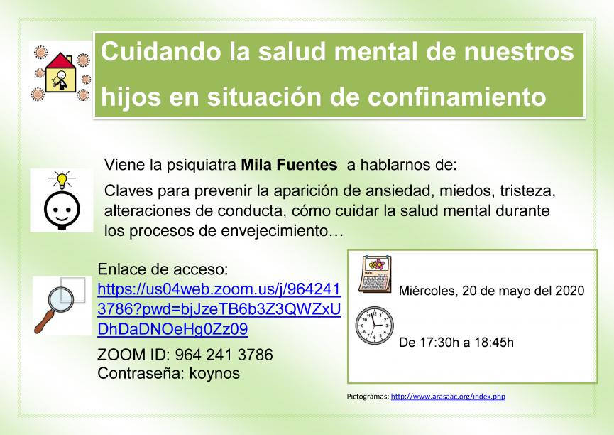 Cuidando la salud mental de nuestros hijos en situación de confinamiento
