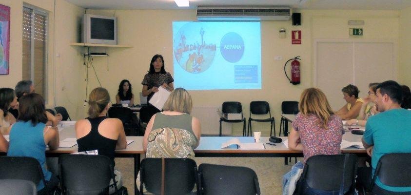Visita de María Teresa Rodríguez Carretero a nuestro Centro de Educación Especial.