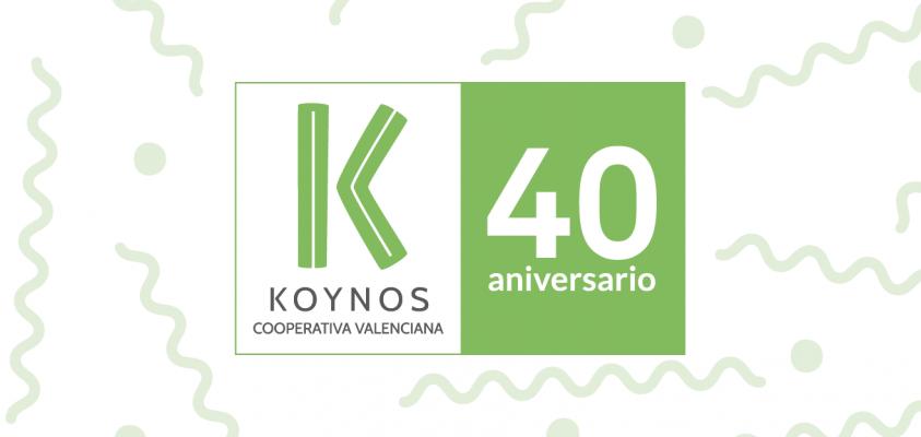 Koynos Cooperativa Valenciana - 40 aniversario.