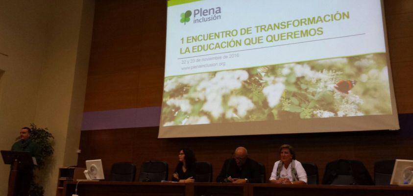Presentación de Plena Inclusión en el salón de Actos de la Facultad de Psicología de la Universidad Autónoma de Madrid