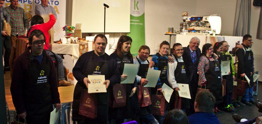 Los participantes del Campeonato Barista