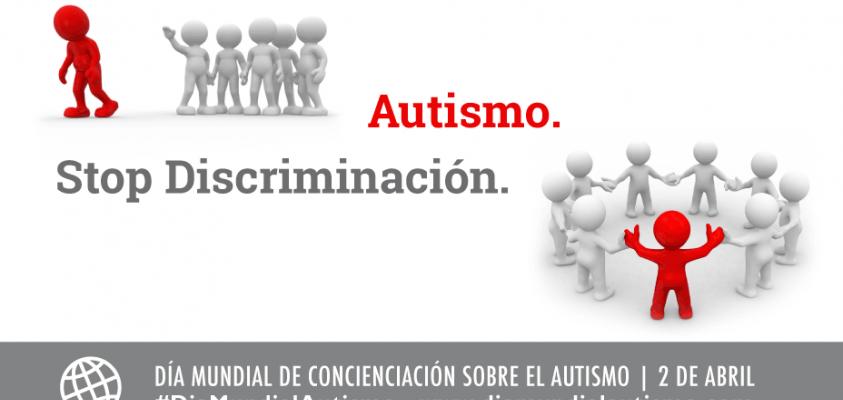 Autismo. Stop discriminación.