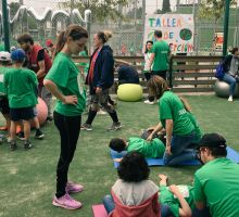 Taller en la Jornada Inclusiva de Koynos