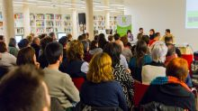 El público en la jornada en Las Naves (Valencia)