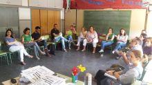 Reunión entre profesionales del Centro de Educación Especial Koynos y el CEIP El Barranquet