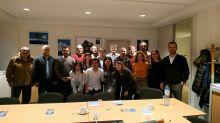 Representantes de las entidades participantes del proyecto IVRAP en la primera reunión en Bruselas
