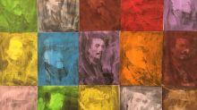 Autoretratos de Pinazo de varios colores